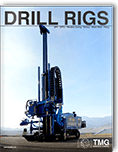 Cover of the complete catalog of drill rigs on issuu