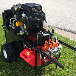 Featured picture of our 22.5 hp Hydraulic Power Unit