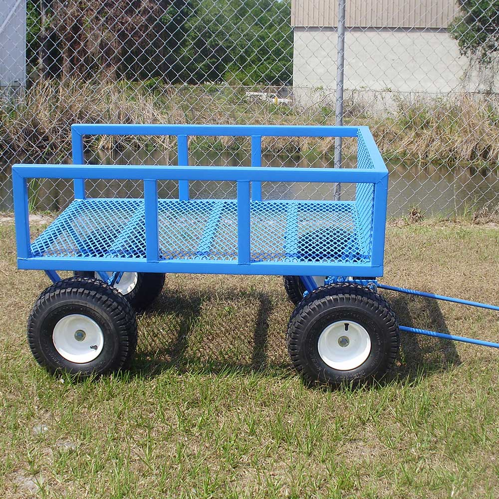 This cart readily stands up to the rigors found on any site.
