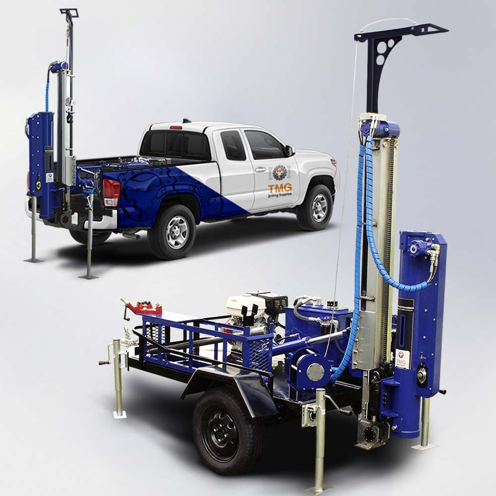 Featured picture of the MA-13 SPT Autohammer mast mini rig