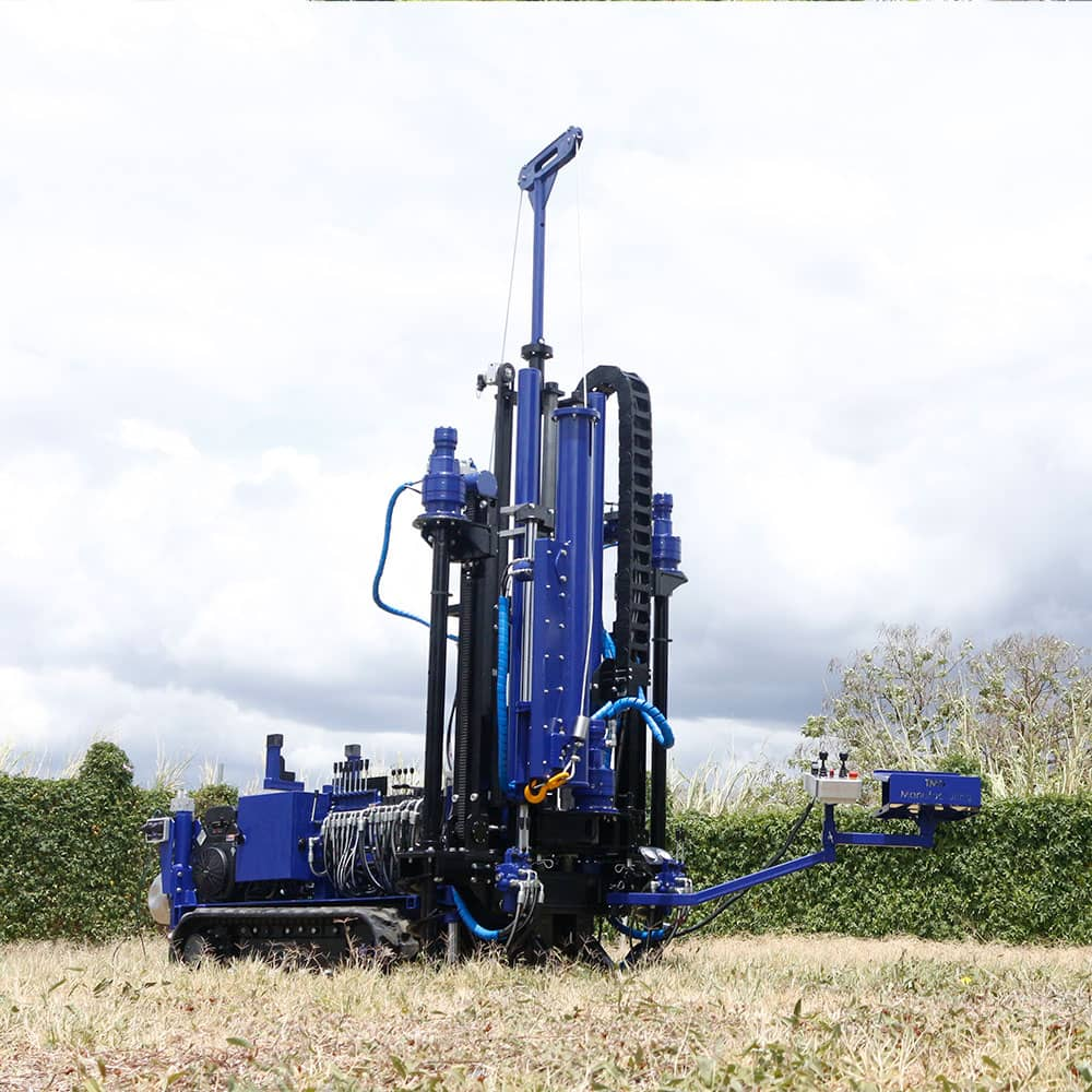 Mini rotary drilling rigs with spt auto hammer