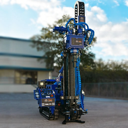Featured picture of our CGR-183 Compaction Grouting Drill Rig