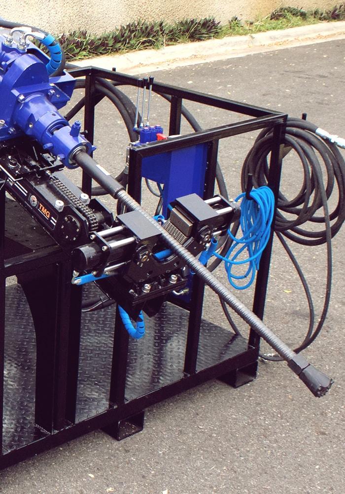Soil Nail Drill Rig, anchoring wall equipment