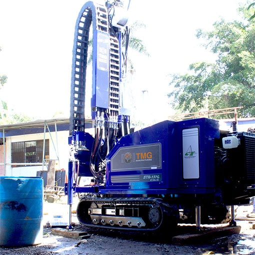 Featured picture of the STR-137G SPT, coring and rotary drilling test Drill Rig