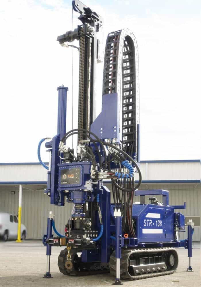 STR-138 drill rig for SPT soil testing