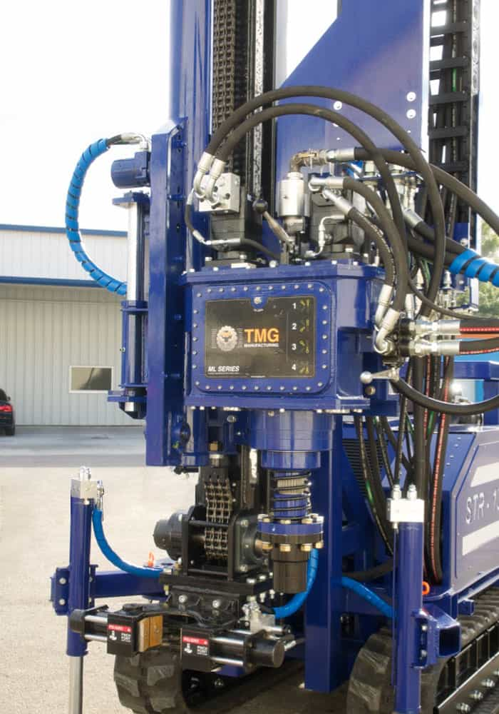 The STR-155, an SPT, wireline coring and rotary drilling machine.
