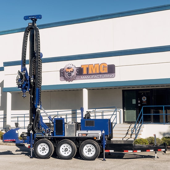 Featured image of our new Water Well Drill Rigs Trailer Mounted