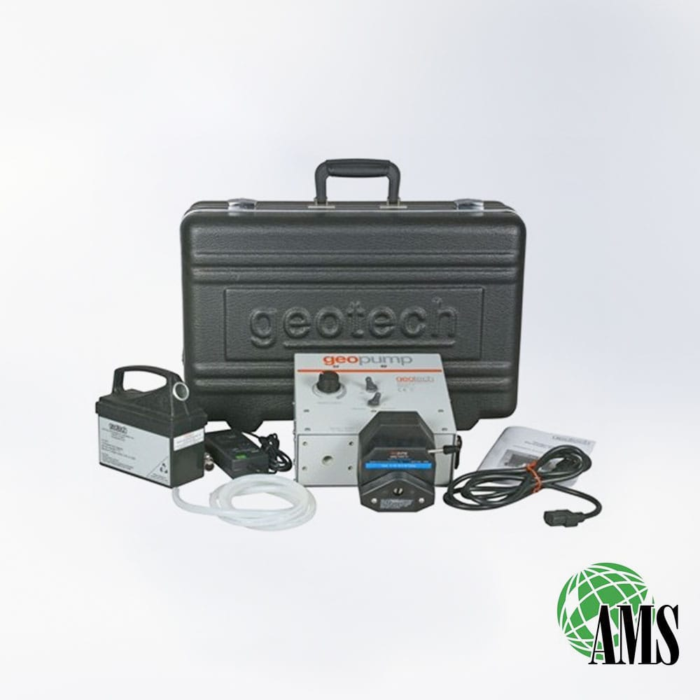 Peristaltic Pump GEOPUMP2 AC/DC + Carrying Case + Battery