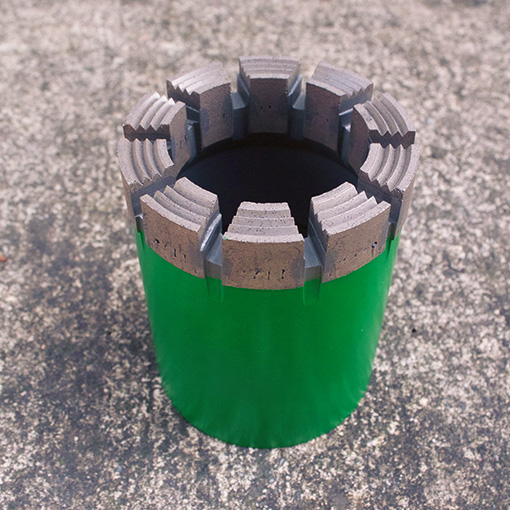 Featured picture of our diamond core bits