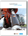 Cover of the Sandvik DTH Hammer Catalog